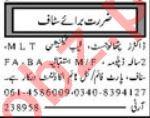 Medical Staff Jobs 2019 in Multan