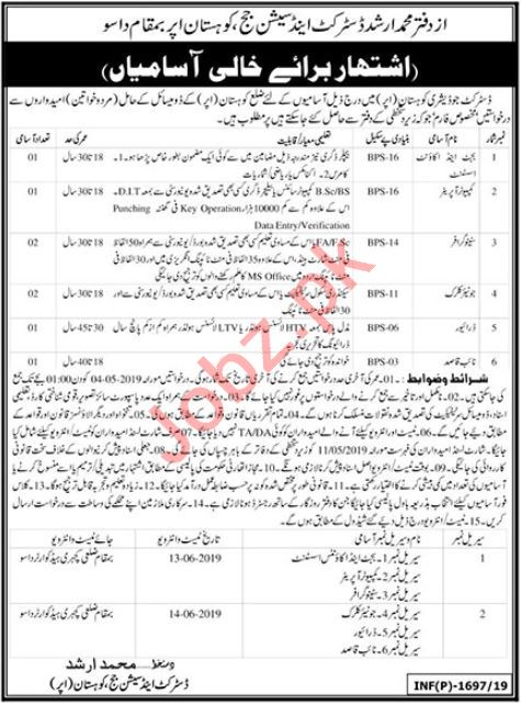 District & Session Court Jobs in Kohistan