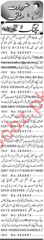 Teacher Job in Peshawar