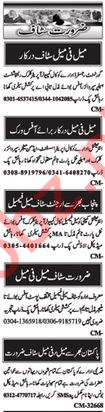 Office Management Job in Islamabad