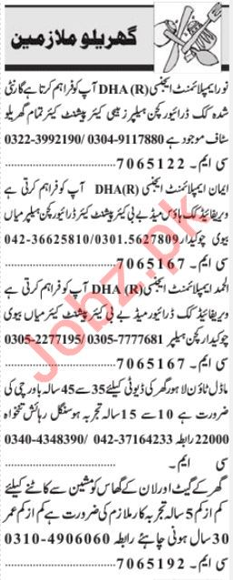 Domestic Staff Jobs Career Opportunity