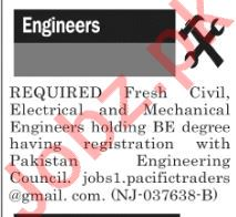 The News Sunday Classified Ads 28th April 2019 for Engineers