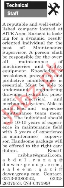 The News Sunday Classified Ads 28th April 2019 for Technical