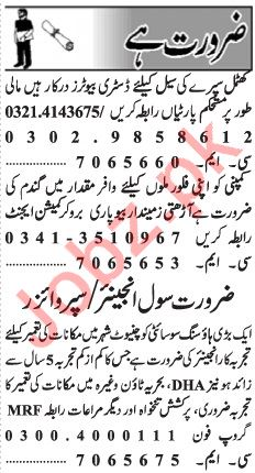 Daily Jang Newspaper Classified Jobs 2019 In Lahore 2019 Job