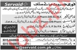 Manager, Pharmacist, Shift Incharge & Sales Jobs 2019