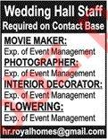 Movie Maker & Photographer Jobs 2019