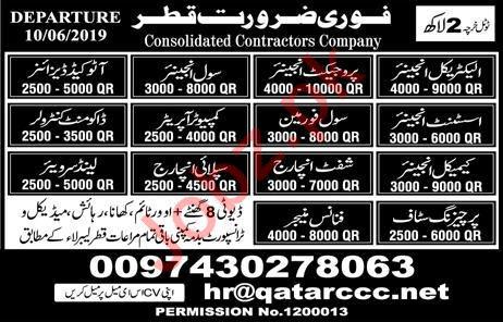 Tecchnical & Engineering Staff Jobs in Qatar