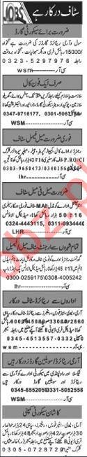 Daily Khabrain Newspaper Classified Jobs 2019 In Islamabad