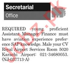 The News Sunday Classified Ads 19th May 2019 for Secretarial