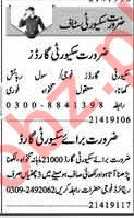 Dunya Sunday Classified Ads 19th May 2019 for Security Guard