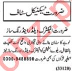Technical Staff Jobs Open in Lahore