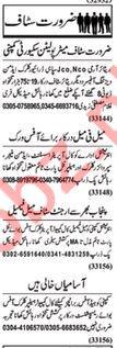 Daily Nawaiwaqt Newspaper Classified Jobs 2019 In Lahore