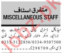 Medical Distribution Company Jobs 2019 in Islambad