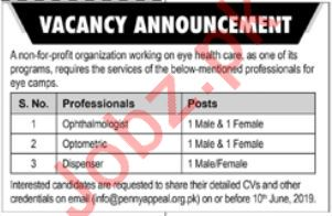 Pennyappeal Pakistan Jobs 2019 For Islamabad
