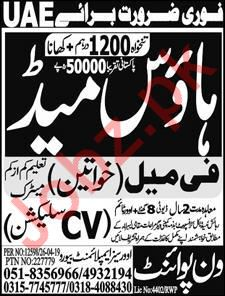 House Maid jobs in ONEPOINT OVERSEAS EMPLOYMENT BUREAU