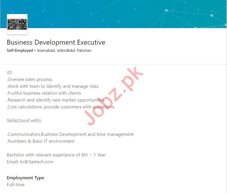 Business Development Executive Jobs 2019