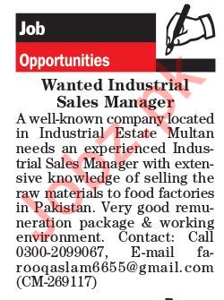 Daily The News Sales Staff Jobs 2019 in Lahore