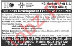 HG Markets Private Limited Walk In Interviews 2019