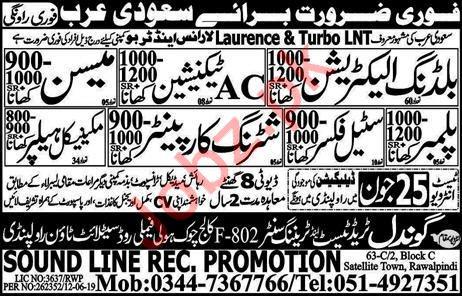 Laurence & Turbo LNT Company Jobs For Saudi Arabia