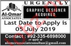 Graphic Designer Job 2019 in Multan