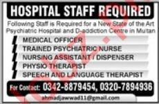 Hospital Staff Jobs 2019 in Multan