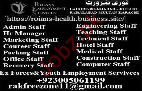 Roians Employment Services Jobs 2019