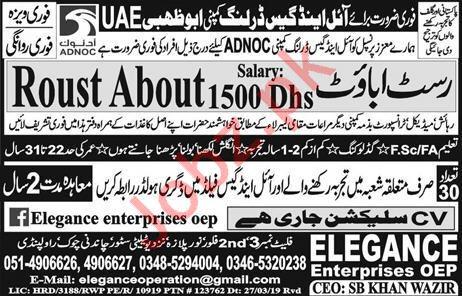 ADNOC Oil & Gas Drilling Company Jobs 2019 For Abu Dhabi UAE