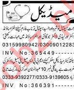 Doctors Staff Jobs in Peshawar