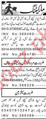 Marketing Staff Jobs in Peshawar