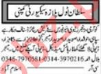 Security Guards Jobs Open in Islamabad