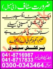 Receptionist Job in Faisalabad
