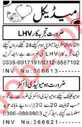 Medical & Paramedical Staff Jobs 2019