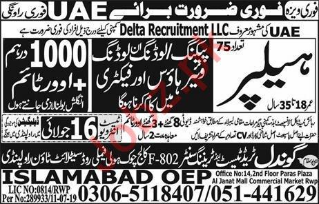 Packing Helper Jobs Career Opportunity