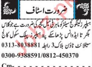 Helpers Language Center Jobs 2019 in Quetta