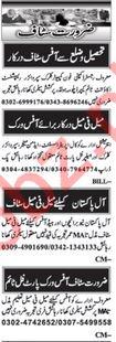 Daily Nawaiwaqt Newspaper Classified Jobs 2019 In Islamabad