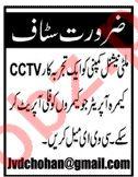 CCTV Camera Operator Jobs 2019