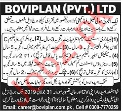 Laboratory Assistant & Engineer Jobs 2019