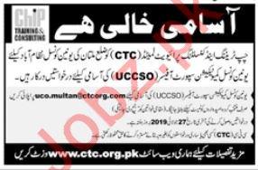 CHIP Training & Consulting Pvt Ltd NGO Jobs in Multan