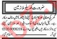Domestic Staff Jobs Open in Islamabad