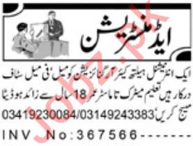 Administrator Job 2019 in Peshawar KPK