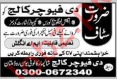 The Future College Lecturers Jobs in Multan