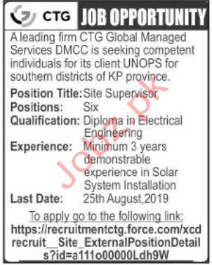 CTG Global KPK Jobs