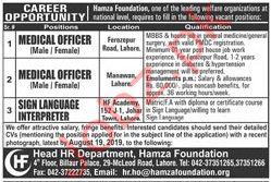 Hamza Foundation Jobs