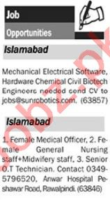 The News Islamabad Sunday Classified Ads 11th Aug 2019