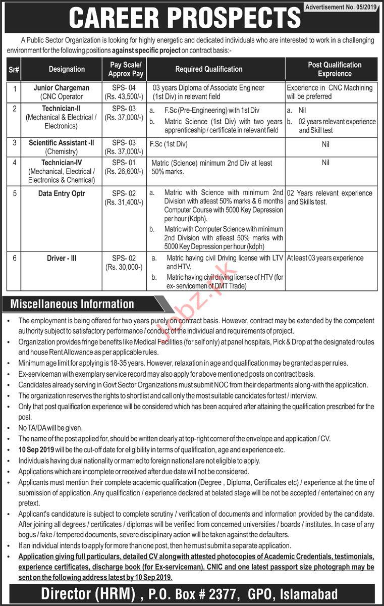 Pakistan Atomic Energy Commission PAEC Jobs