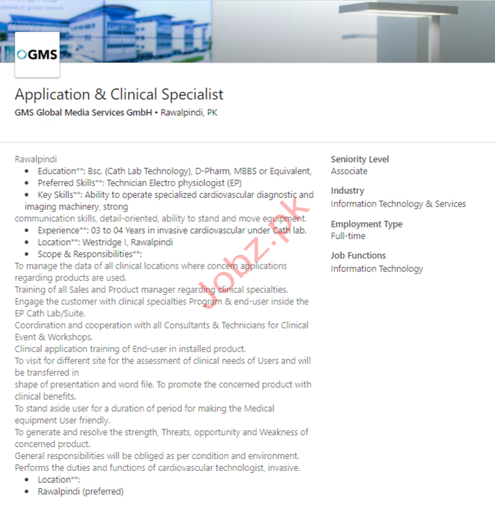 GMS Global Media Services GmbH Jobs