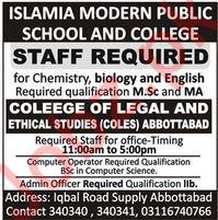 Teacher Jobs in Abbottabad