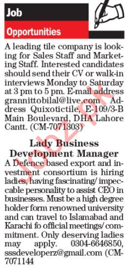 Daily The News Newspaper Classified Ads In Lahore 2019 Job