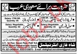 Civil Foreman & Safety Officer Jobs 2019