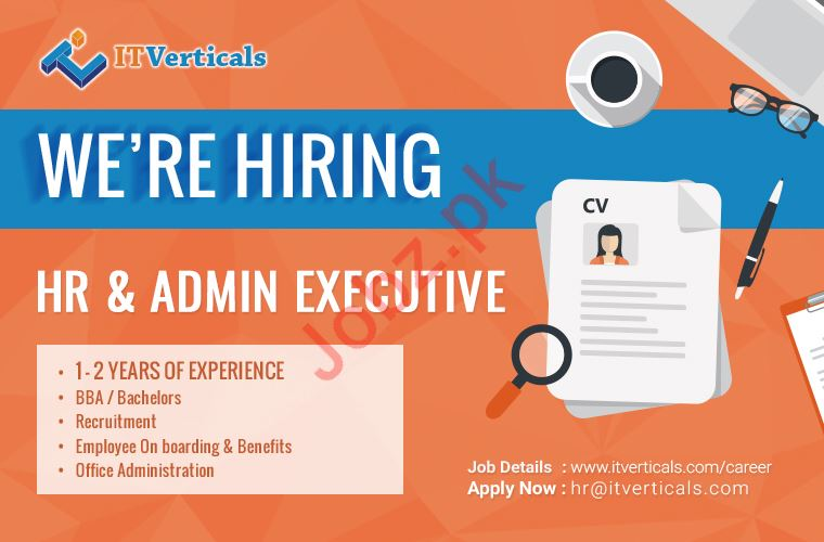 HR & Admin Executive Job 2019 in Karachi